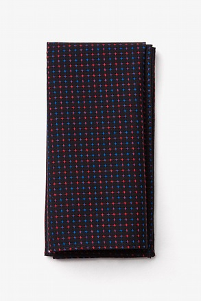 _Ashland Red Pocket Square_