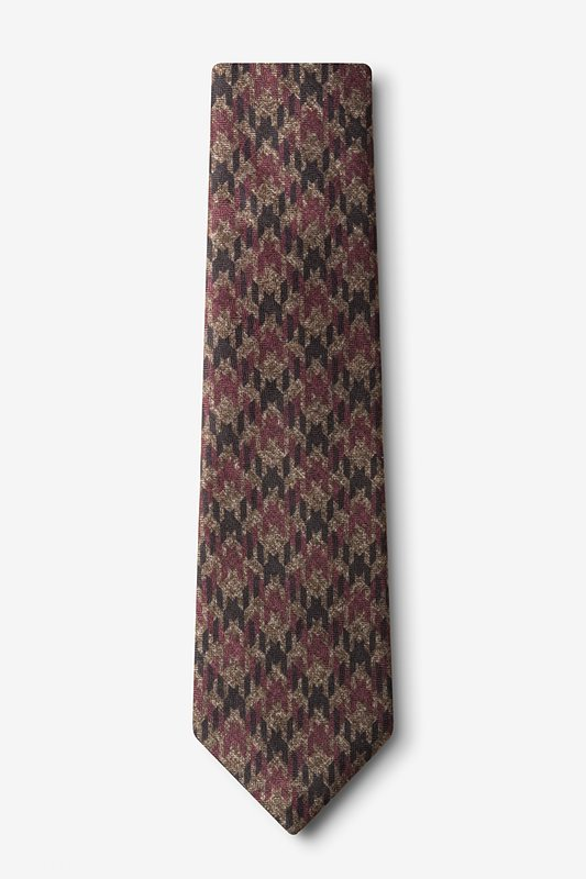 Chandler Red Extra Long Tie Photo (1)