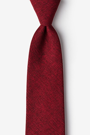 _Galveston Red Tie_
