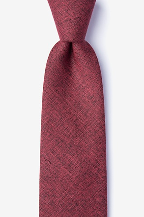 _Norwood Red Tie_