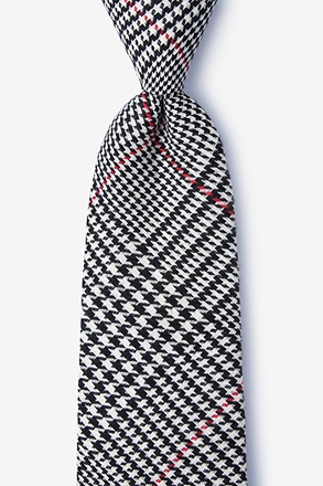 Rock Red Extra Long Tie
