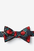 Gonorrhea Red Self-Tie Bow Tie