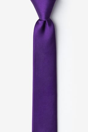 _Royal Purple Skinny Tie_