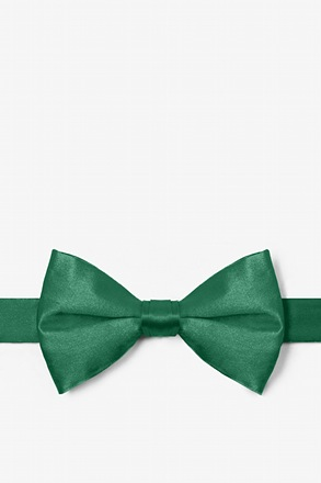 Spruce Green Pre-Tied Bow Tie