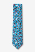 Cedar Hill Turquoise Skinny Tie Photo (1)