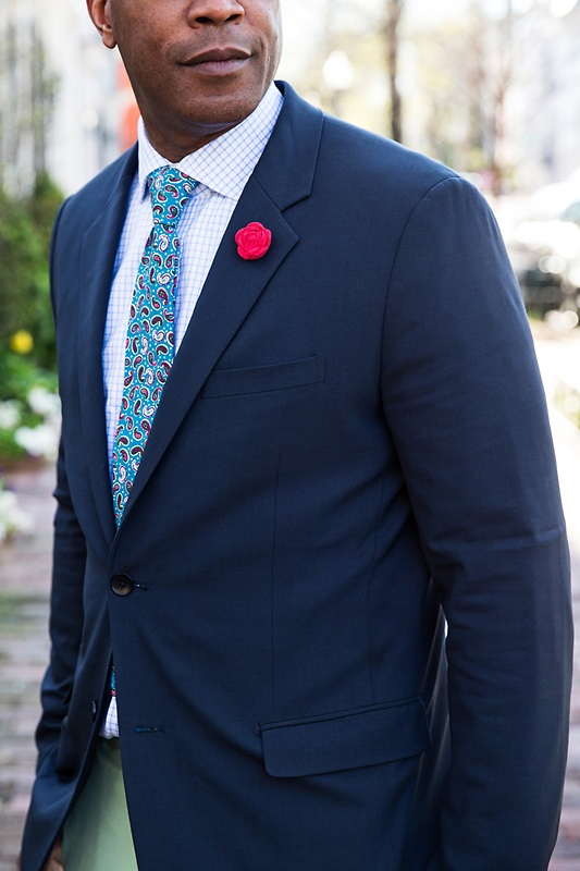 Cedar Hill Turquoise Skinny Tie Photo (3)