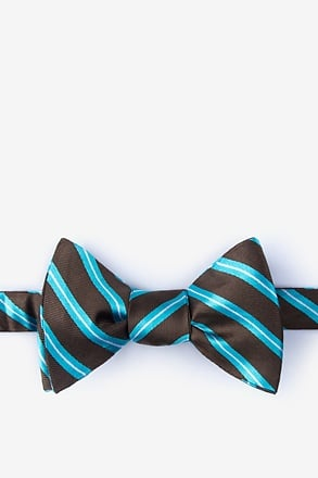 Barrow Turquoise Self-Tie Bow Tie