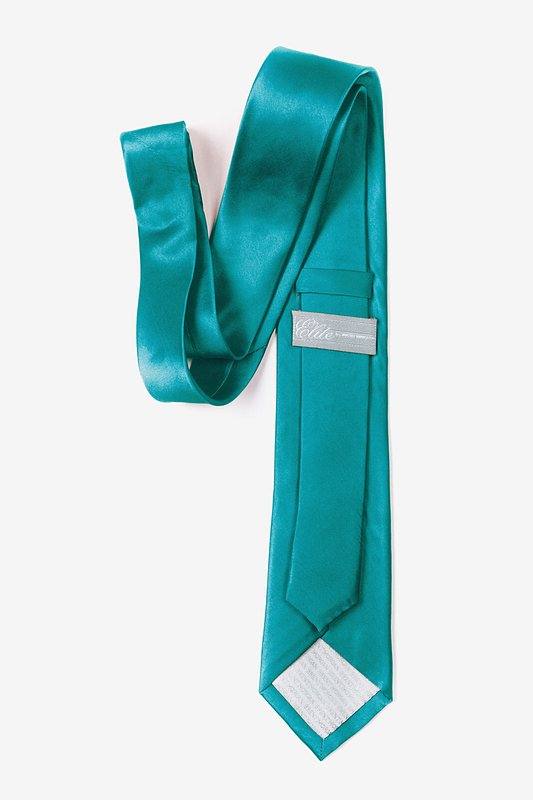 Turquoise Tie For Boys Photo (2)