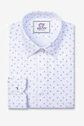 Percy White Classic Fit Untuckable Dress Shirt Photo (0)