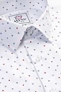 Percy White Classic Fit Untuckable Dress Shirt Photo (1)