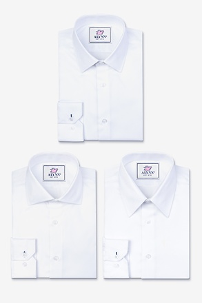 The Ultimate Essentials White Shirt Pack
