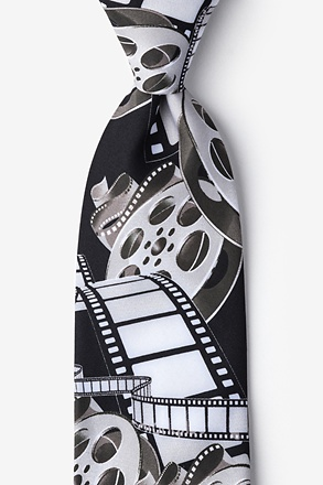 _Film & Movie Reels White Tie_