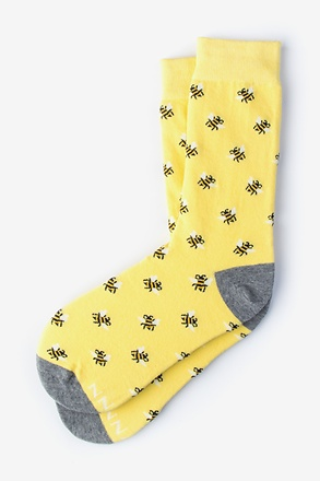 Bee Yellow Women's Sock