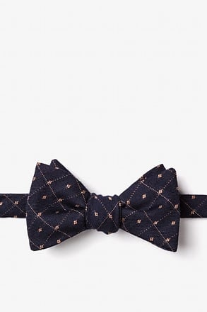 _Gresham Yellow Self-Tie Bow Tie_