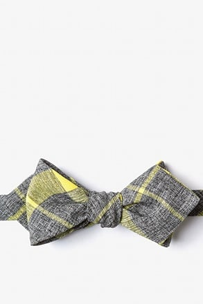 _Kirkland Yellow Diamond Tip Bow Tie_