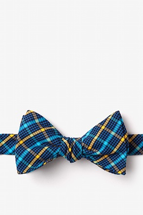 _Sahuarita Yellow Self-Tie Bow Tie_