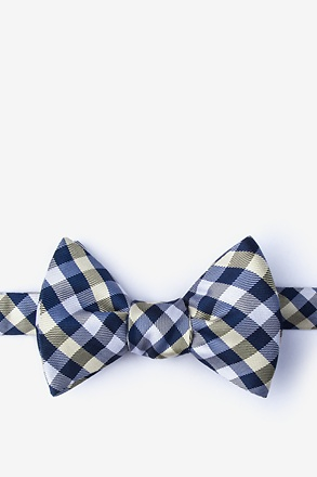 _Bora Bora Yellow Self-Tie Bow Tie_