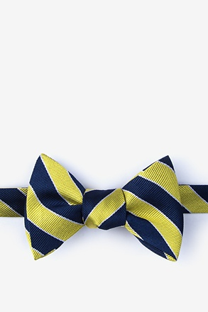 _Fane Yellow Self-Tie Bow Tie_