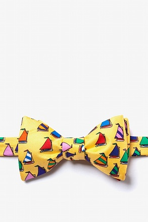 _Rainbow Fleet Yellow Self-Tie Bow Tie_