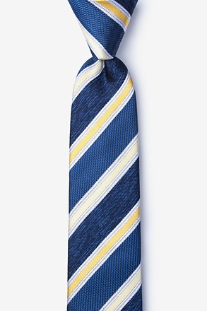 Shannon Yellow Skinny Tie