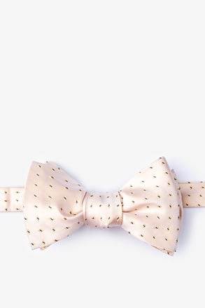 _Trinity Yellow Self-Tie Bow Tie_