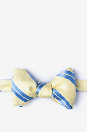 _Wales Yellow Self-Tie Bow Tie_
