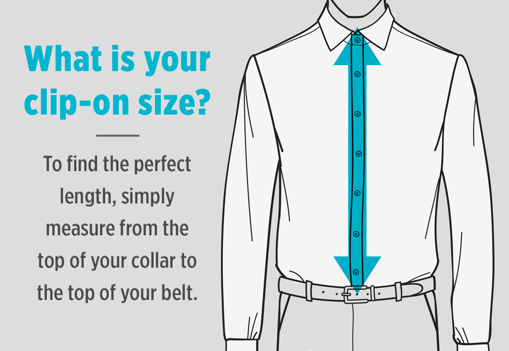Finding the Right Clip-on Tie Length